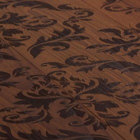 Carving Empire I – паркетна дошка з елементами графічного дизайну.