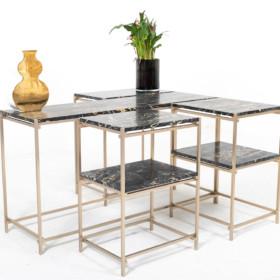 Nodo – колекція мармурових столиків.