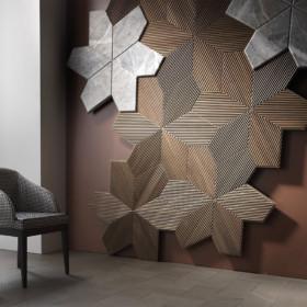 Вертикальные стеновые панели Azalea