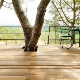 Decking Teak – терасна дошка з екзотичної породи дерева.